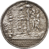 Lot 3347: MEDALS. Medal 1565, signed R (Lukas Richter). Auction Lanz 33 (1985), 66. Rare. Very fine. Estimate: 500,- euros. Hammer price: 2,200,- euros.