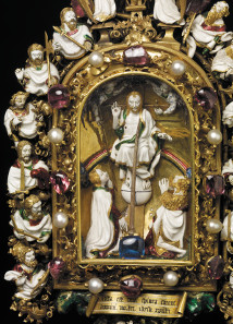 Detail of The Holy Thorn Reliquary. The Waddesdon  Bequest. © The Trustees of the British Museum.