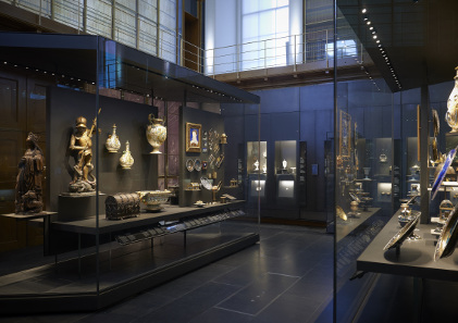 The Waddesdon Bequest Room 2a in the British Museum. © The Trustees of the British Museum.