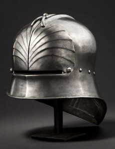 A Southern German late Gothic sallet, Innsbruck, circa 1490. HP: 18,000 Euros. Copyright Hermann Historica oHG 2015.