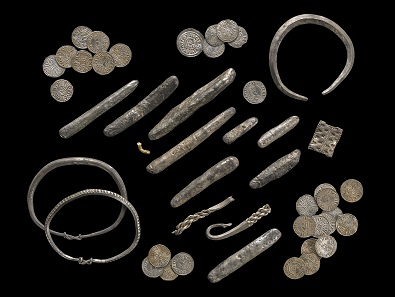 Watlington Hoard selection. Photo: © Trustees of the British Museum.