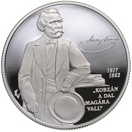 Hungary / 10,000 HUF / Silver .925 / 31.46g / 38.61mm / Design: Vilmos Király / Mintage: 5,000.