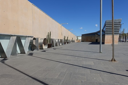 The entrance to the Museo Nacional de Arqueologia Subacuatic. Photo: KW.