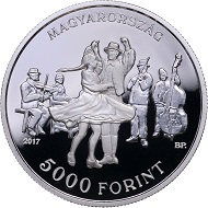 Hungary / 5,000 Forint / Silver .925 / 12.5g / 30mm / Design: Andrea Horváth and Balácz Pelcz / Mintage: 5,000.