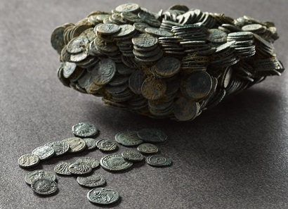 This makes only 4.5% of the Seaton Down Hoard. ©RAMM.