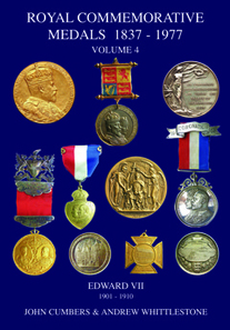 John Cumbers and Andrew Whittlestone, Royal Commemorative Medals 1837-1977. Vol. 4. Edward VII, 1901-1910. Edited by Paul and Bente R Withers. 2nd edition. Galata, Llanfyllin, 2017. Paperback, 205 pages, A4. Retail 45.00 pounds.