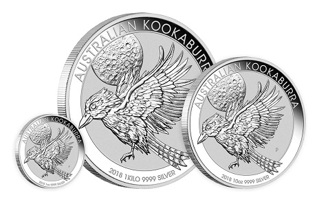 Australia / 1-30 AUD / Silver .9999 / 1oz-1kg / 40.6-100.6mm / Design: Neil Hollis / Mintage 1 oz version: 500,000.