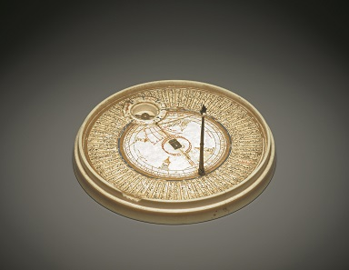 Qibla indicator made for finding the direction of Mecca, 1582-1583, Egypt. Photo: © Trustees of the British Museum.