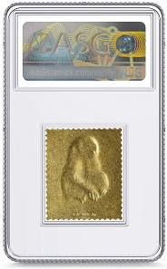 China 1980. Gold 8 Fen, Year of the Monkey. XF 90 Mint.