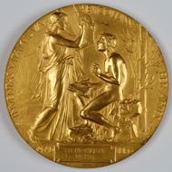 The original medal, housed in the German Literature Archive Marbach. Photo: Chris Korner/DLA Marbach.