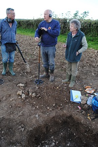 Piddletrenthide excavation. © RMA Trevarthen Archaeological Services 2016.
