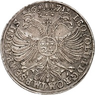 No. 899: Northeim. Reichstaler 1671. Very rare. Very fine. Estimate: 20,000,- euros.