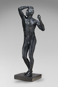 Auguste Rodin (1840-1917), The Age of Bronze, 1877. Bronze. Sandcast before 1916 © Musée Rodin.