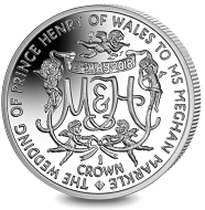 Ascension Island / 1 Crown / sterling silver / 28.28g / 38.60mm / Mintage: 2,000 // also available as uncirculated in cupro-nickel: Mintage: 10,000.