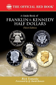Rick Tomaska, A Guide Book of Franklin and Kennedy Half Dollars, 3rd edition. Whitman Publishing, Atlanta (GE). Paperback, 320 pages, full color illustrated, 6 x 9 inches. ISBN 0794845290. $19.95.