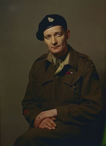 Lieutenant Colonel David Vivian Currie. Photo: Dix Noonan Webb.