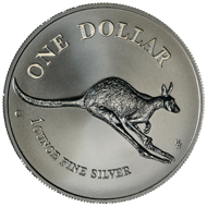 One dollar coin 1994.
