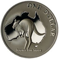 One dollar coin 2000.