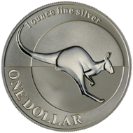 One dollar coin 2004.