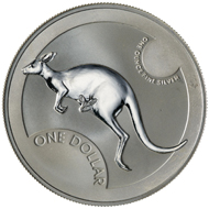 One dollar coin 2006.