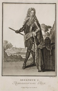 Joseph I. Copperplate engraving from 1703.