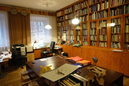 The library of the Polish Numismatic Society. Photo: UK.