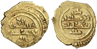 Robert Guiscard. Tari d'oro, Palermo. From auction Künker 166 (2010), no. 3924 – The first Norman coins, minted in Sicily, were issued in the name of Robert Guiscard.