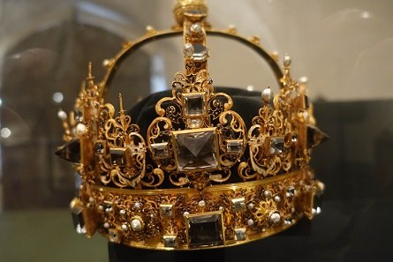 The crown of Charles IX. Picture: KW.