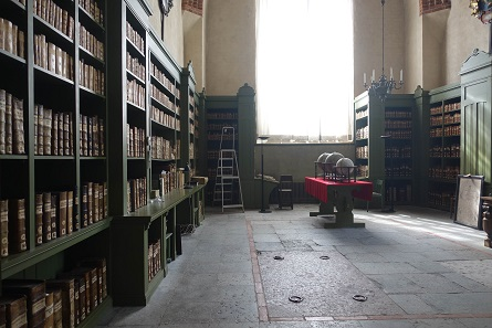 The library of the cathedral is the town's pride. Picture: KW.
