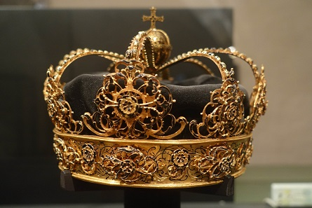 The crown of Queen Christina of Holstein-Gottorp. Picture: KW.
