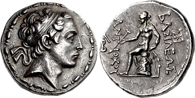 Antiochos IV Epiphanes. Tetradrachm, Antioch in Persis. From sale CNG 109 (2018), 289.