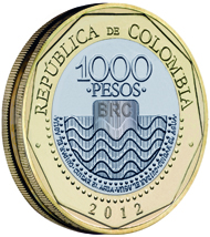 The 1 000 Peso Coin Has Been Re Introduced With New Security Features Since It Was