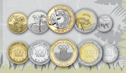 The New Series Of Colombian Peso Courtesy Central Bank Colombia