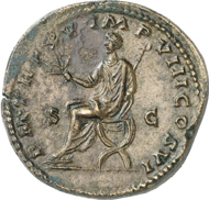 1082: ROME. Commodus (177-192). Sestertius, 190. BMC 652. Brown patina, extremely fine. Estimate: 1,500 EUR. Final Price: 5,000 EUR.