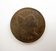 United States of America, Half-Cent, 1796. Estimate: GBP 25,000-30,000. Sold for GBP 225,700.