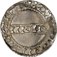3000: IRELAND. Anonymous, 1065-1095. Penny, Dublin. Phase V. Seaby 6151. Very fine to extremely fine. From Stack Collection, auction sale Sotheby April 22, 1999, lot 804. Estimate: 1,000 euros. Hammer price: 5,500 euros.