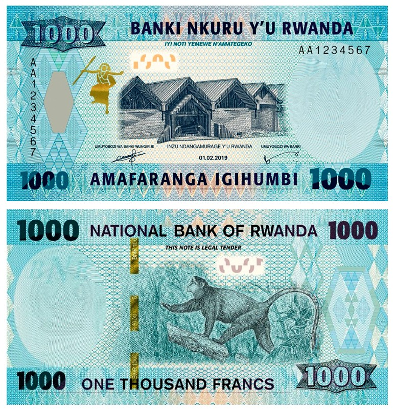 Image result for Rwanda currency
