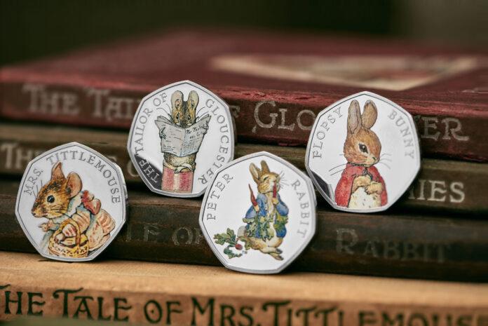 Man kann davon ausgehen, dass auch diese Beatrix-Potter-Münzen aus dem Jahr 2018 Teil der gestohlenen Sammlung waren